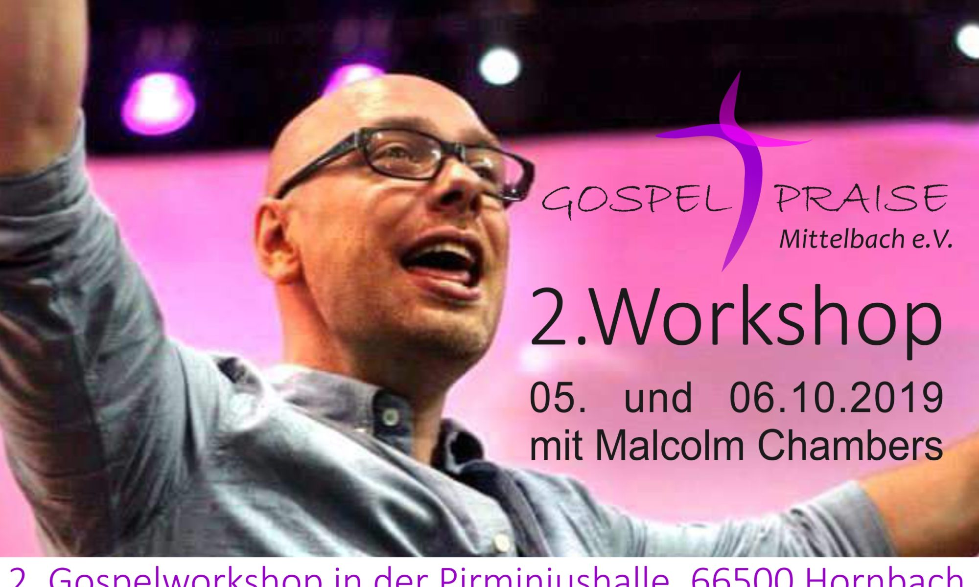 2. Gospelworkshop in der Pirminiushalle in Hornbach
